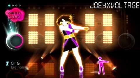"Just Dance Wii ""Crazy In Love"" 5 Stars"