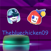 The chicken is yellow