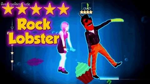 Just Dance 4 - Rock Lobster - 5* Stars