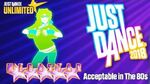 Acceptable in the 80s - Just Dance 2018-0
