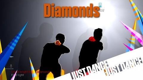 Just Dance 2015 - Diamonds Alternative (60FPS)