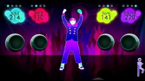 Just Dance 2 Gameplay - The Power
