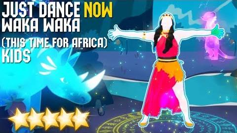 Waka Waka (This Time for Africa) (Kids version) - Just Dance Now