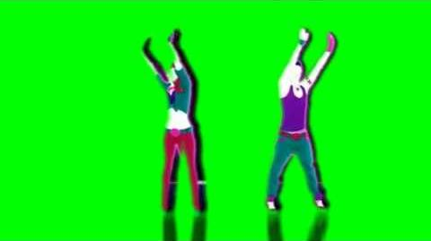 Just Dance Now - Promiscuous Green Screen Extraction