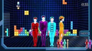 PS4 舞力全开2015 (13)Tetris -Dancing Bros俄罗斯方块 五星评价
