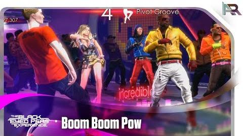 Boom Boom Pow - The Black Eyed Peas Experience (Xbox 360) (Area 246)