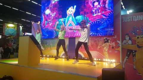 Daddy Cool by Groove Century Just Dance 2018 at Japan Expo