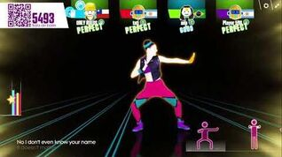 Just Dance Now PC I Kissed a Girl sweat by Katy Perry (5*estrellas)