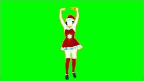 Just Dance 2014 All I Want For Christmas Is You Green Screen Extraction