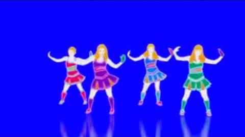 Just Dance 3 Glowed Extraction- Baby One More Time