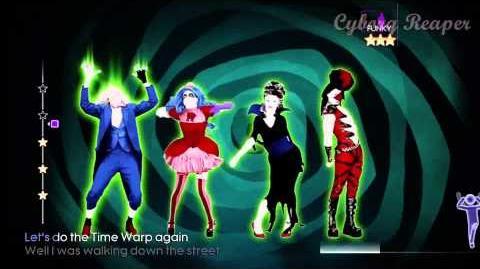 Just Dance 4 - Halloween Thrills - Time Warp - Xbox Kinect