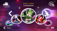 Funkytown jd2 menu