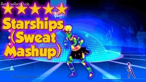 Just Dance 2014 - Starships (Sweat Mash-Up) - Alternative Mode Choreography - 5* Stars-0