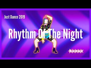 Just Dance 2019 - Rhythm Of The Night