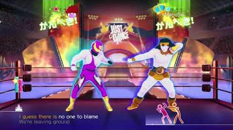 Just Dance Wii U The Final Countdown (No Audio) 2 Players Wii u