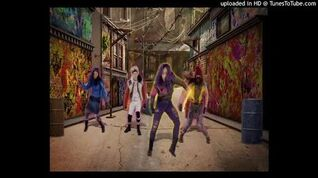 Descendants Cast- Rotten To The Core (Just Dance Disney Party 2 Version)