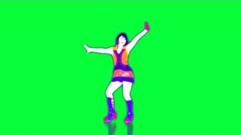 Just Dance 3 - Dance All Nite - Anja - Extraction