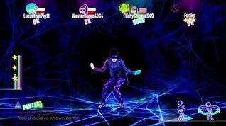 Just Dance 2015 Black Widow Normal Version 5 stars Xbox 360