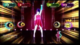 Just Dance 3 Only Girl in The World 4 player gameplay Wii