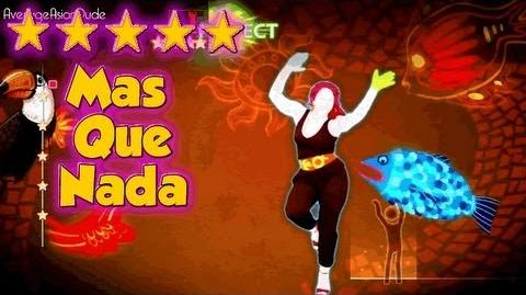 Just Dance 4 - Mas Que Nada - 5* Stars