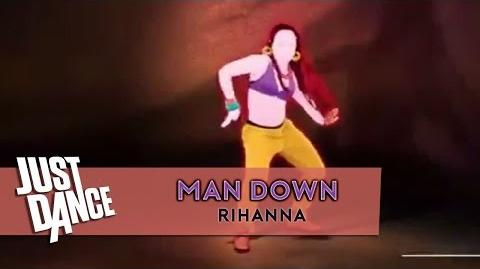 Man Down - Rihanna Just Dance ( ? ) Full Gameplay