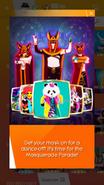 Masqueradeparade jdnow notification