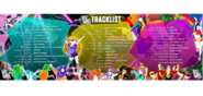 JustDance2017 Tracklist