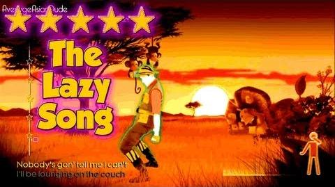 Just Dance 4 - The Lazy Song - 5* Stars (DLC)