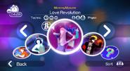 Loverevolution jdw menu translated