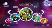 Jumpintheline jd2 menu with jdgh icon will07498