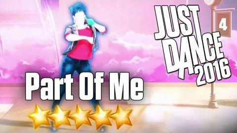 Just Dance 2016 - Part Of Me - 5 stars