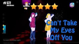 Just Dance Now - Can't Take My Eyes Off You - 4* Stars