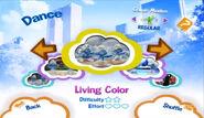 LivingColor menu