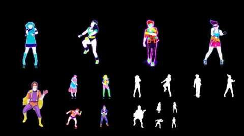 Just Dance 4 Extract Never Gonna Give You Up (Puppet Master)