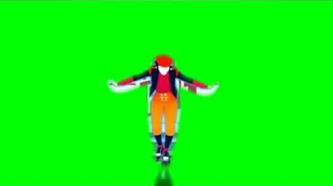 Just Dance Now - Tightrope Green Screen Extraction