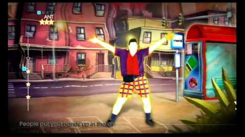 Just Dance 4 - Gold Dust - DJ Fresh