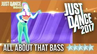 Just Dance 2017 All About That Bass - 5 stars