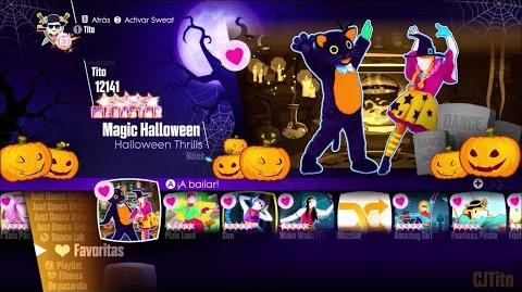 Just Dance 2018 - Songlist Menu (Halloween Theme).