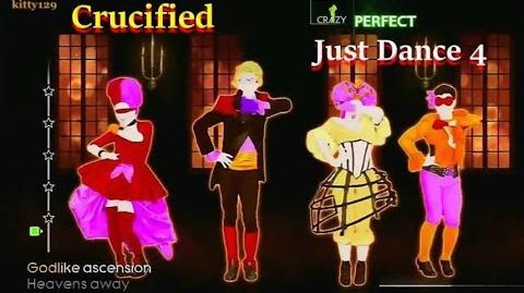 Just Dance 4 - Crucified - 5 Stars