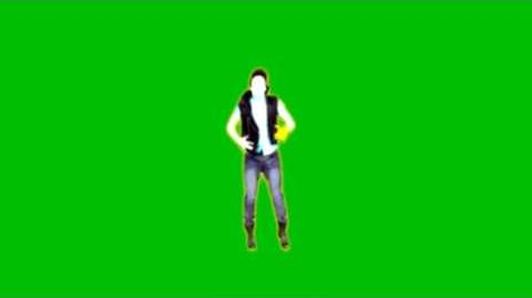 Just Dance 4 Beauty & A Beat Green Screen Extraction