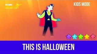 Just Dance 2018 (Unlimited) This Is Halloween - Kids Mode