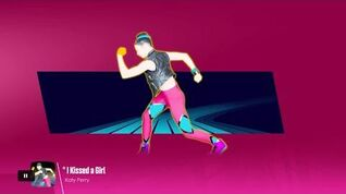 Just Dance Unlimited - I Kissed A Girl (Sweat)