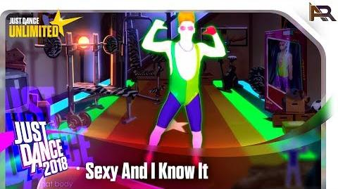 Sexy And I Know It - Just Dance 2018