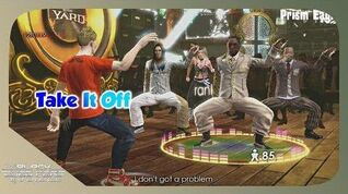 The Black Eyed Peas Experience - Take It Off - S Rank