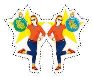 Candy p2 dancemas ornament