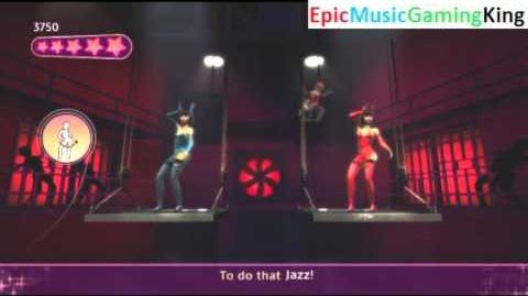 """Dance on Broadway Gameplay - """"All That Jazz"""""""