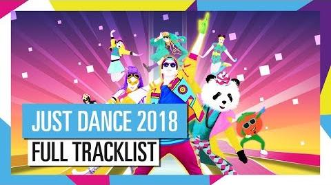 Full Tracklist - Just Dance 2018 (UK)