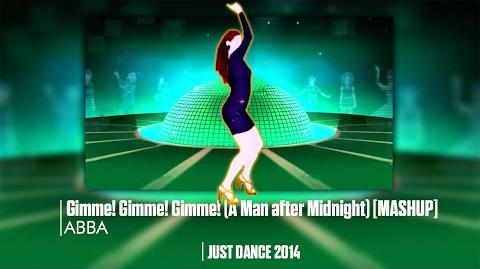 Just Dance 2014 Gimme! Gimme! Gimme! (A Man after Midnight) Mashup Gameplay