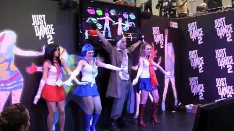 Just Dance 2 SDCC
