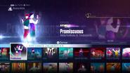 Promiscuous jd2016 menu